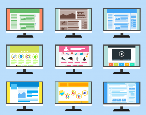 content management systems or websites