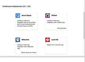 How to deploy a backend API to Azure