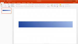 Extracting a color gradient from a shape in powerpoint into CSS