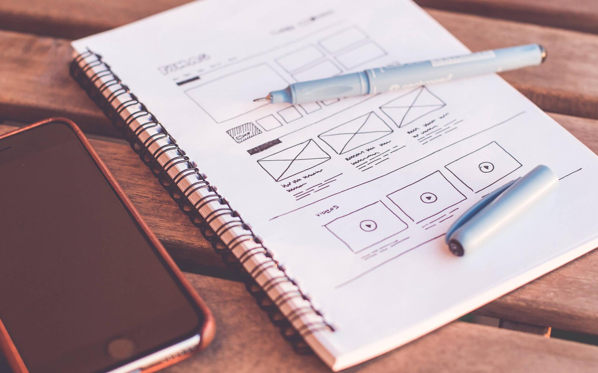 the process of web design