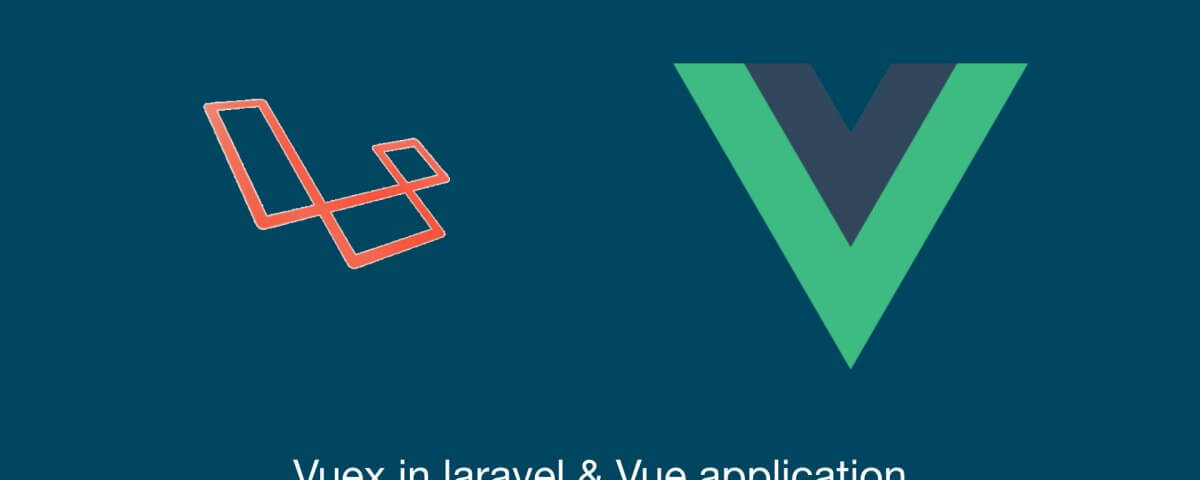 vuex in laravel and vue application