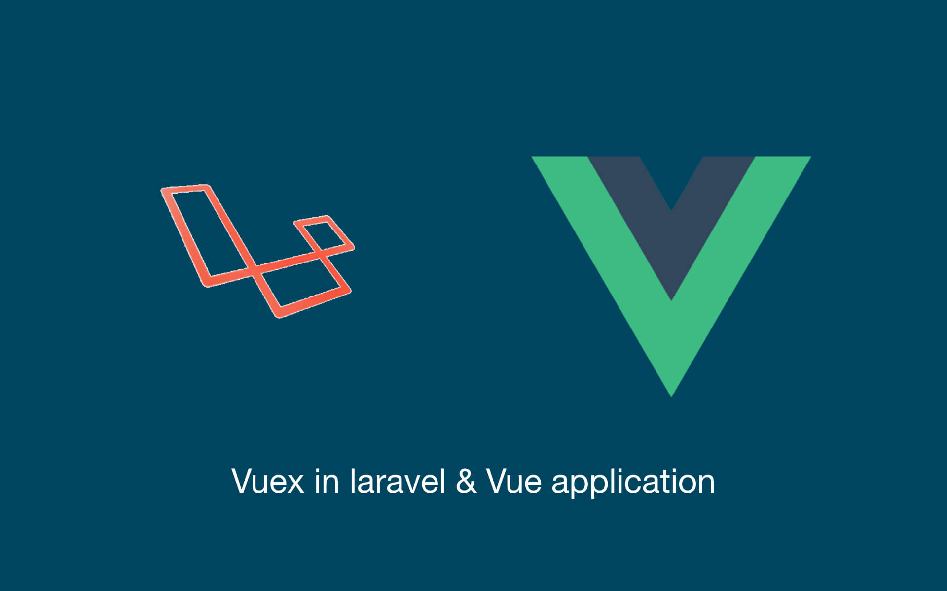 intergrating vuex in laravel and vue application