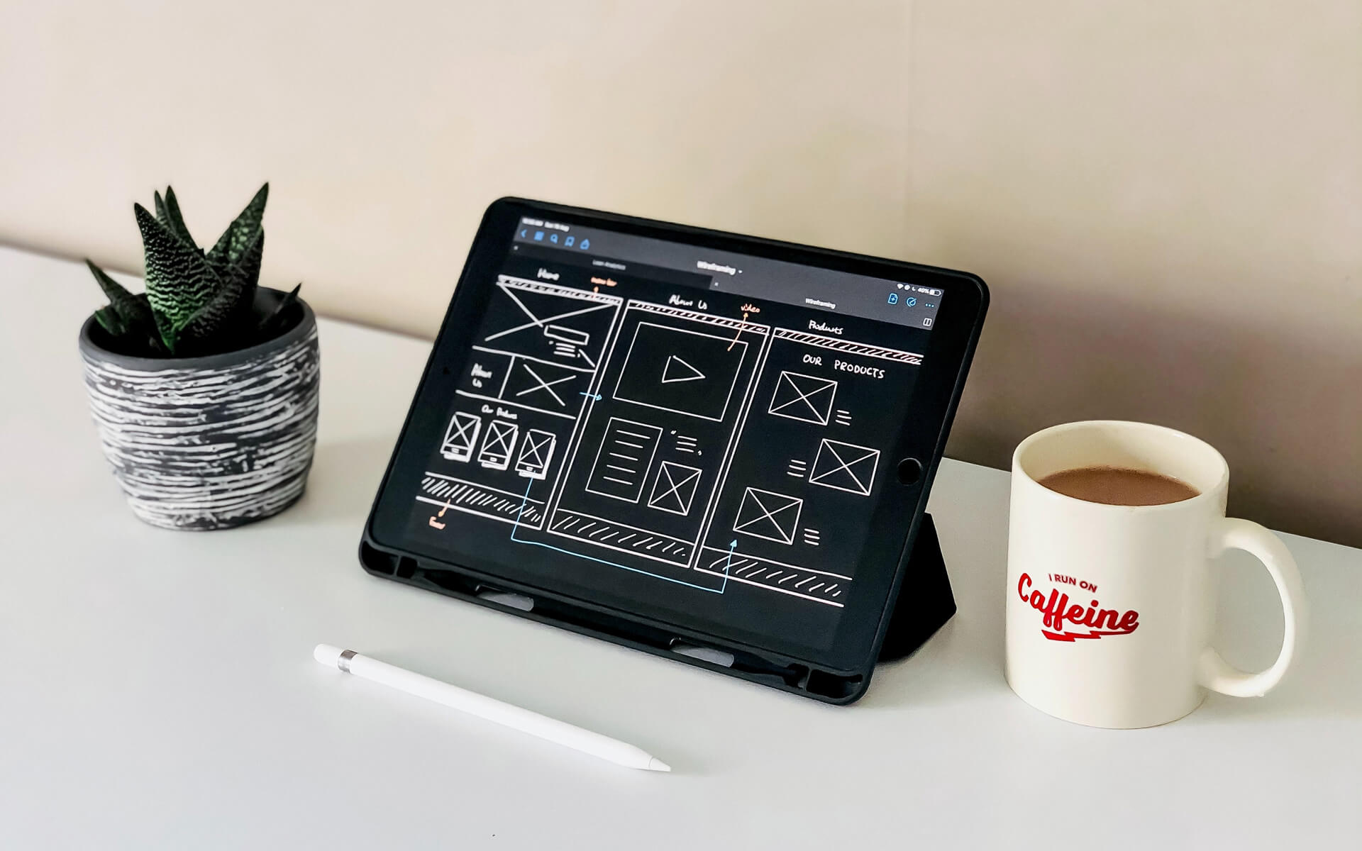 the art of wireframes and mock ups